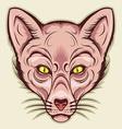 egypt cat mascot vector image vector image