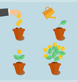growing money tree vector image