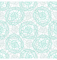 lace floral pattern fashion fabric textile swatch vector image