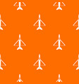 military aircraft pattern seamless vector image vector image