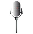 Old Mic vector image vector image