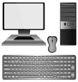 personal computer vector image vector image