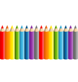 school pencils vector image vector image