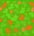 seamless pattern in ireland colors vector image vector image