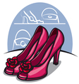 women shoe vector image vector image