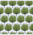 bright green tropical palm leaves pattern vector image vector image