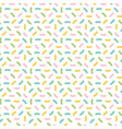 cute colorful confetti seamless pattern background vector image vector image