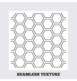 Hex stripped grid seamless pattern vector image