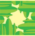natural green abstract background vertical vector image vector image
