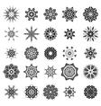 Rosettes Tattoo Design vector image vector image