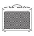 Classic Guitar Amplifier vector image