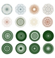 pattern rosette guilloche for document eps 8 vector image