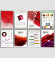 Red business backgrounds and abstract concept