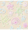 Seamless summer patter vector image vector image