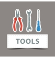 Hardware tools drawing vector image