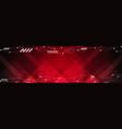 abstract dark red hi-tech futuristic web header vector image vector image