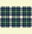 Classic check plaid seamless pixel fabric texture vector image