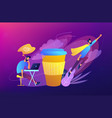coffee break concept vector image vector image
