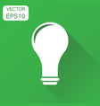 lightbulb idea icon business concept bulb vector image vector image