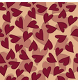 marsala hearts pattern