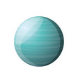 neptune planet isolated vector image