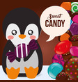 sweet candy concept vector image vector image