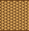 woven basket seamless pattern vector image