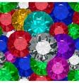 Jewels tecstureSeamles vector image