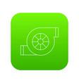 air filter car icon green