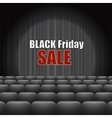 Black Friday Inscription vector image vector image