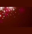 christmas background design bokeh and light vector image vector image