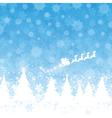 christmas santa background 1111 vector image vector image