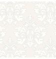 Grey grunge vintage floral seamless pattern vector image vector image