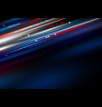 high speed digital technology light motion vector image
