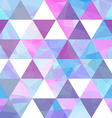 Seamless geometric retro background vector image vector image