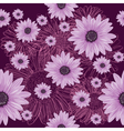 Seamless violet pattern with lined and colored vector image