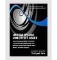 business marketing brochure poster templat vector image