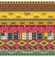 Abstract ethnic pattern tribal background vector image