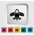 Airplane toy icon vector image vector image