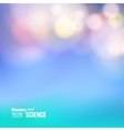 Bokeh and lens flare vector image