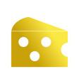 delicious fresh cheese food nutrition vector image vector image