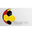 soccer logo design vector image