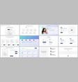 templates for website design portfolio vector image vector image