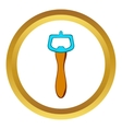 Bottle opener icon cartoon style vector image vector image