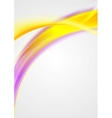 Bright shiny waves abstract background vector image vector image