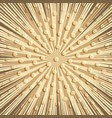 comic explosive brown concept vector image vector image