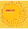 Patterned background with small spots vector image vector image