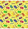 Photo cameras seamless pattern vector image vector image