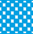 retro scroll paper pattern seamless blue vector image vector image