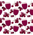 Seamless pattern with wine glasses vector | Price: 1 Credit (USD $1)